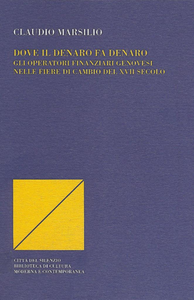 Copertina Claudio Marsilio